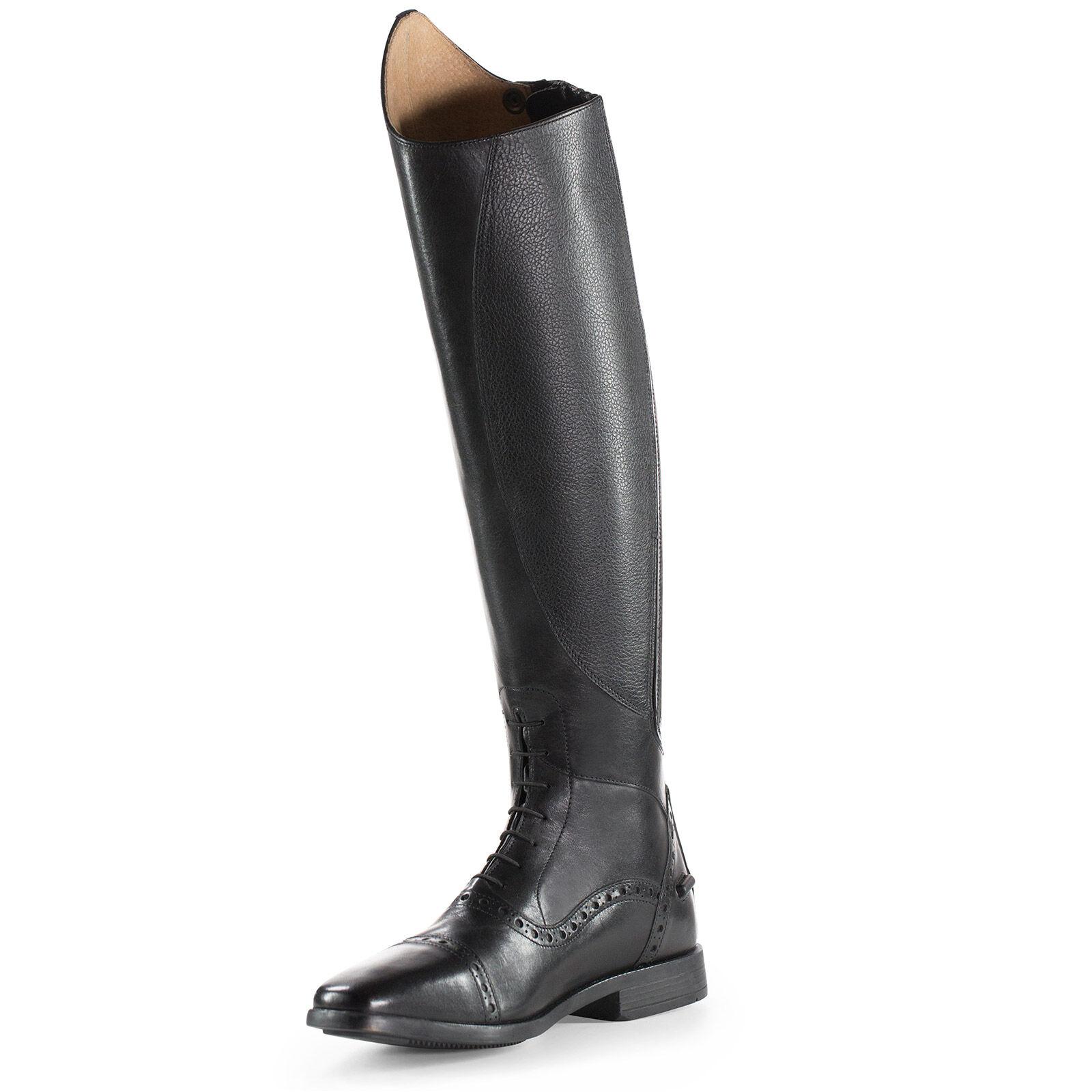 Horze Genuine Tall Winslow Boots Leather 0wPOnX8k