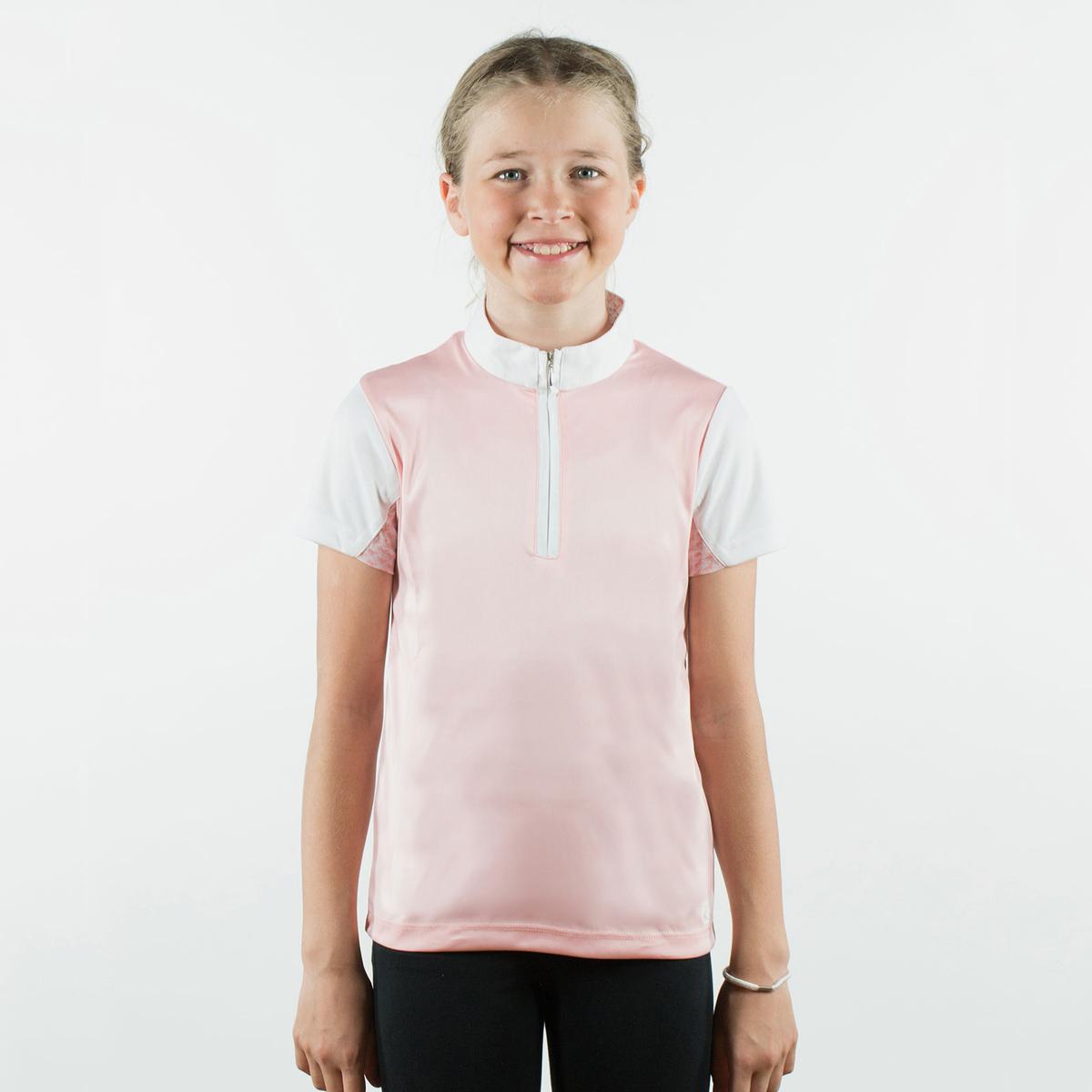186c8eff Horze Lena Kids Training/Show Combo Shirt | Horze