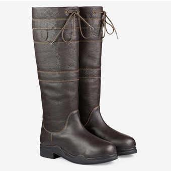 de400eda73d Women s Waterproof Leather Stable Tall Boots