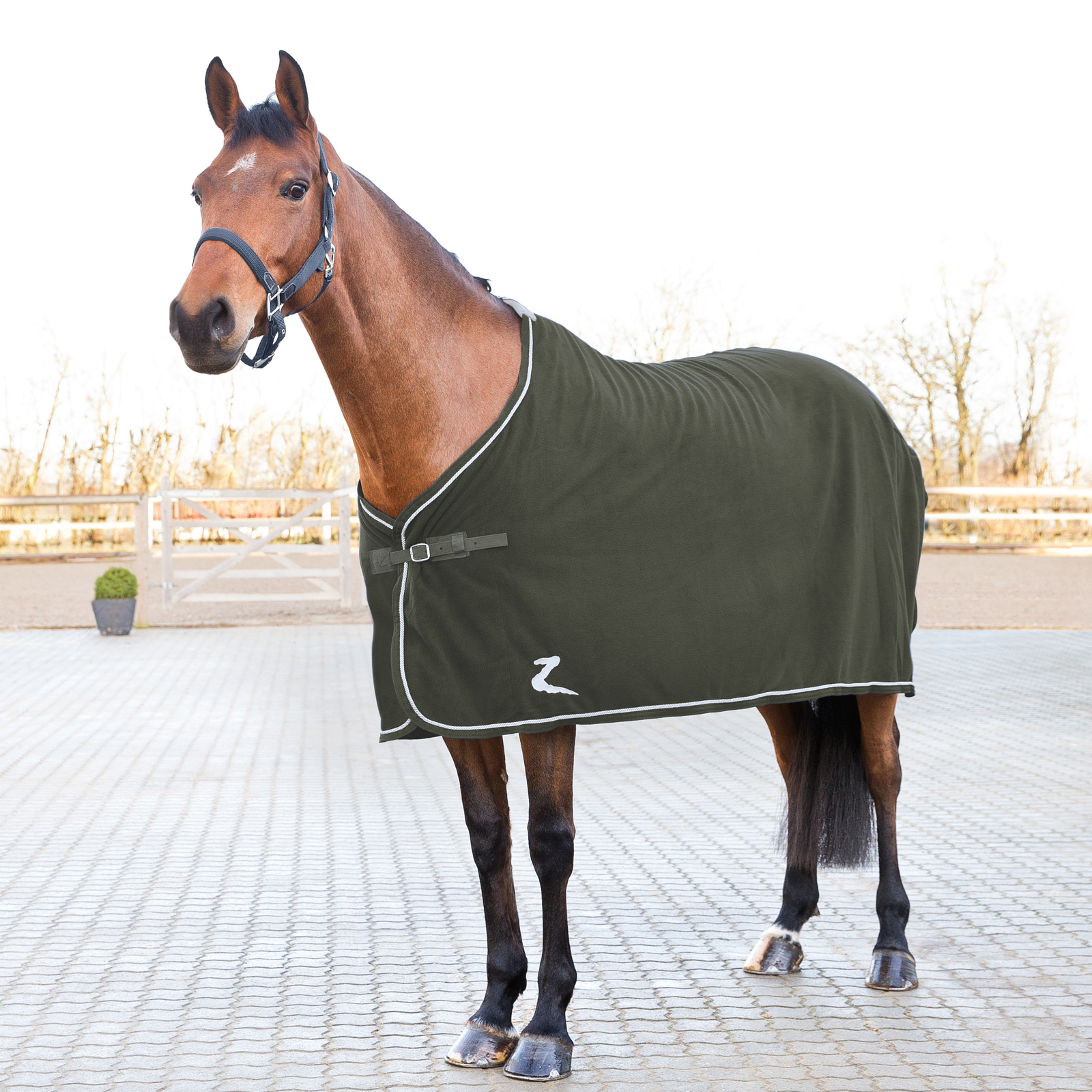 Horze Fleece Show Cooler Rug