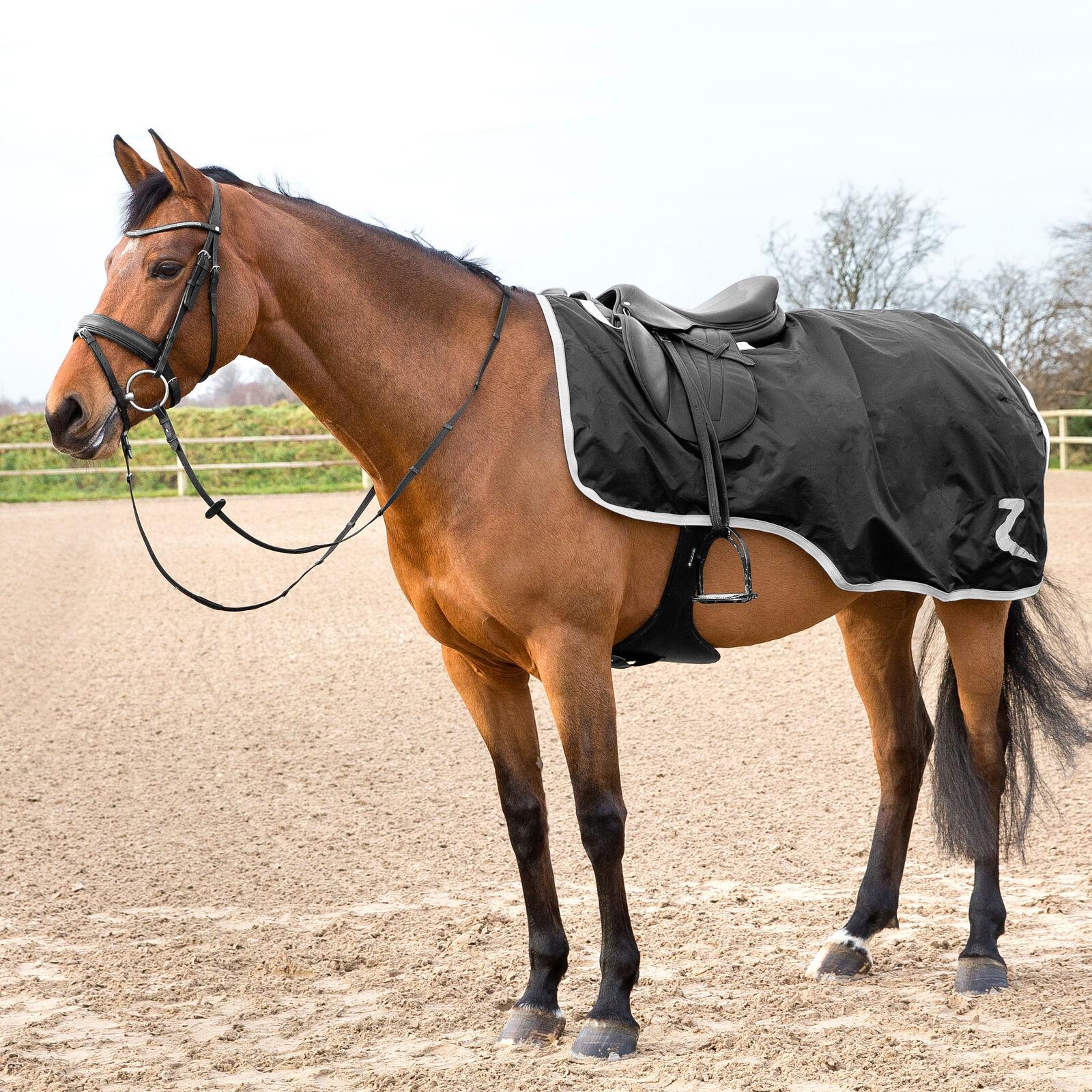 Silver Horze Luminox Reflective Riding Unisex Horse Rug Exercise Sheet