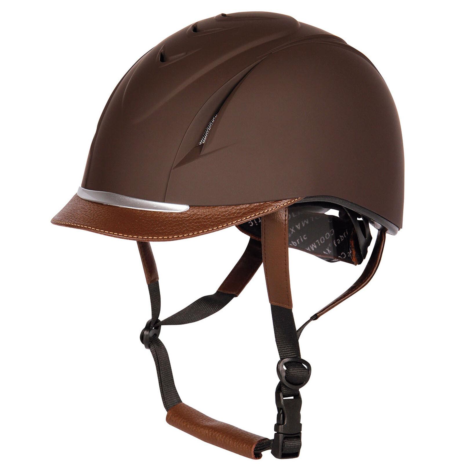 Women Men Horse Riding Helmet Hat Easy Wear Equestrian Equipment Safety Headwear